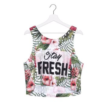 Stay Fresh Crop Top