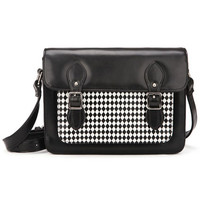 ROMWE | Metal Buckles Black Bag, The Latest Street Fashion