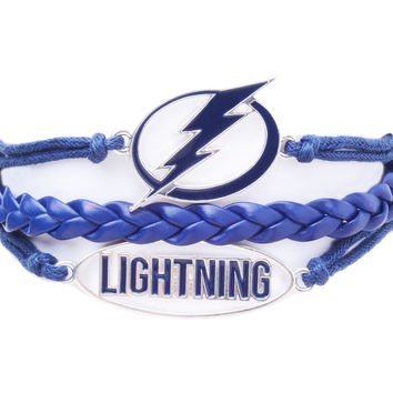 Tampa Bay Lightning Navy Bracelet