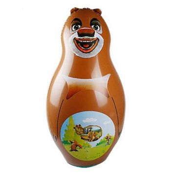 Inflatable Toy 90cm Large Tumbler Thick Cartoon