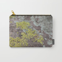 Colors on Rocks Carry-All Pouch by Jessie Flori