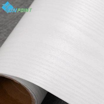 Waterproof Fabric Decorative PVC Film Self Adhesive Wall Paper Wood Furniture Renovation Stickers Kitchen Cabinet Door Wallpaper