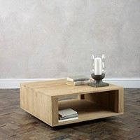Darma Solid Oak Coffee Table from Lombok