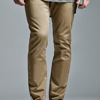 Bullhead Denim Co. Solid Skinny Chino Pants - Mens Pants - Kelp