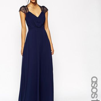 ASOS Tall | ASOS TALL Kate Lace Maxi Dress at ASOS
