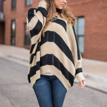 All Up To You Sweater, Black