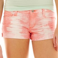 Arizona Tie-Dyed Frayed Shorts