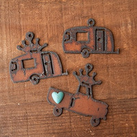 Truck and Camper Charms