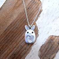 Some Bunny To Love Necklace [3355] - $16.00 : Vintage Inspired Clothing & Affordable Fall Frocks, deloom | Modern. Vintage. Crafted.