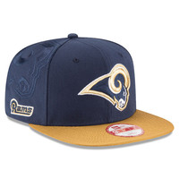 NFL Los Angeles Rams New Era Navy 2016 Sideline Official 9Fifty Snapback Hat