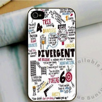 divergent  visits Case on iPhone 4 / iPhone 4S / iPhone 5 / Samsung S2 / Samsung S3 / Samsung S4 Case