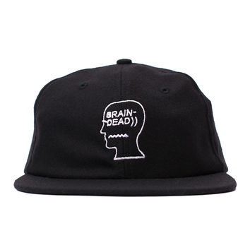 Brain Dead Logo Cap (Black)
