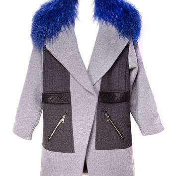 Three Floor Alaska Grey and Black Coat