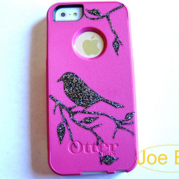 otterbox iphone 5 case, case cover iphone 5s otterbox ,glitter otterbox case,otterbox iPhone 5,gift,otterbox case