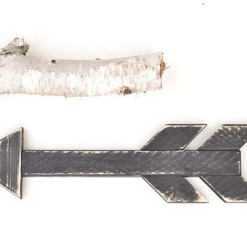 Decorative Arrow. Wooden Arrow. Wooden Arrow. Rustic Arrow. Painted and Distressed Wood Decorative Arrow. Wood Arrow Decor. Painted Arrow.