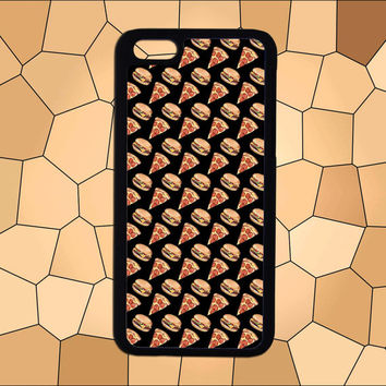 Pizza and hamburger,iPhone 6/6 plus case,iPhone 5/5S case,iPhone 4/4S case,Samsung Galaxy S3/S4/S5 case,HTC Case,Sony Experia Case,LG Case