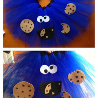 Sesame Street Cookie Monster toddler tutu