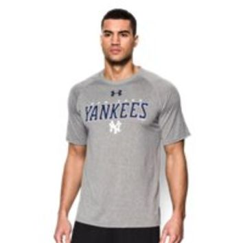 Under Armour Mens New York Yankees Team UA Tech T-Shirt