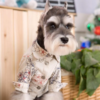 High Class Exquisite Embroidered Shirt Fashion for Dog Supply & Pet Clothes Costumes-Size XS