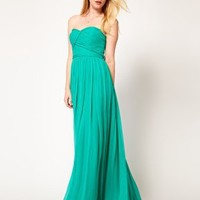 Mango Maxi Dress In Chiffon at asos.com