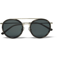 Dries Van Noten - Acetate and Metal Aviator Sunglasses | MR PORTER