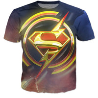 Flash/Supergirl (Shirt)