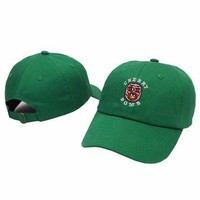 Cherry Bomb Green Odd Future OFWGKTA Golf Wang Wolf Gang Hip Hop Snapback Sports Cap C