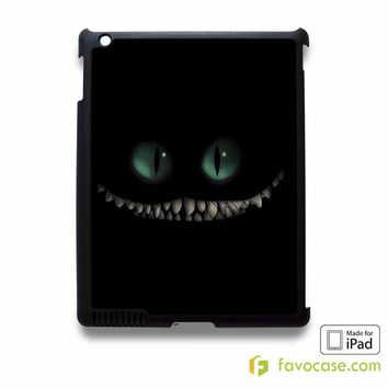 ALICE IN WONDERLAND 2 Cat Smilling iPad 2 3 4 5 Air Mini Case Cover