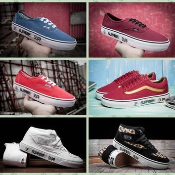 07905af3a89bf2 Supreme X Era Motion HC Old Skool Half Cabl Vans Canvas Shoes Cl