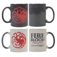 Game of Thrones Fire & Blood Heat Sensitive Mug