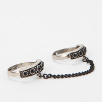 Chained To Me Double-Finger Ring