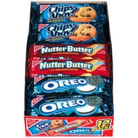 Walmart: Nabisco Chips Ahoy Nutter Butter & Oreo Cookies Variety Pack, 12ct