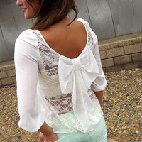 Breezy Bow Blouse | The Rage