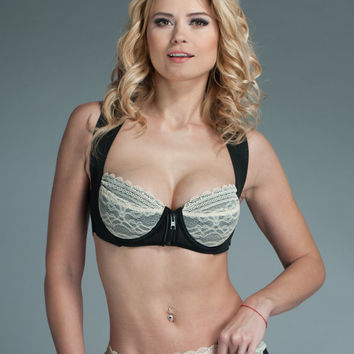 Shaping Lace Bra - Womens Bra Apple Pie tinder date lingerie