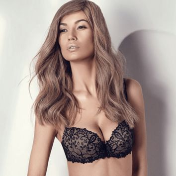 Sexy Lace Padded Push Up Bra Ajour Dolce
