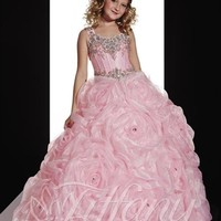 Tiffany Princess 13357 | Little Girl's Pageant Dress | Little Girl's Party Dress | GownGarden.com