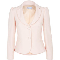 Red Valentino Crepe Jacket With Bow Back | Harrods