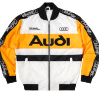 Club Foreign Rings Racing Jacket in Yellow