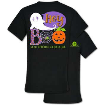 Southern Couture Classic Boo Halloween Fall T-Shirt
