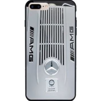 Mercedes Benz S65 AMG Silver Engine iPhone 5 5s 6 6s 7 7s Plus Hard Plastic Case