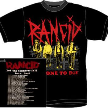 Rancid T-Shirt - Last One To Die Cowboys Tour