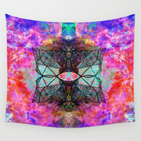It's Complicated V. 2: Electric Wall Tapestry by J.Lauren