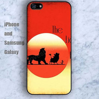 Lion solar cow iPhone 5/5S case Ipod Silicone plastic Phone cover Waterproof