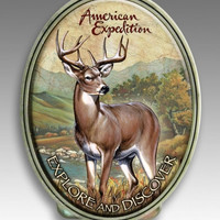 Wildlife Money Clip - Whitetail Deer