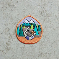 Mokuyobi Threads Yoga Forest Iron-On Patch - Urban Outfitters