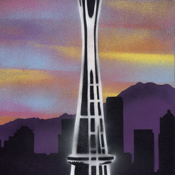 Rooted in Seattle 1 Art Print by ICutThings