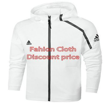 Adidas Mens Race Primaloft ECO-Padded Shell Hooded Parka A-0858 L-5xL White