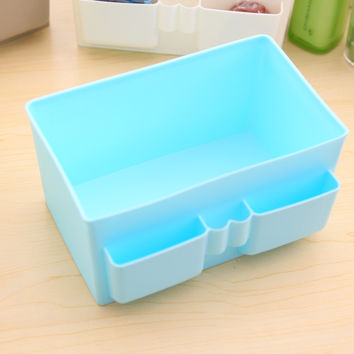 Korean Cosmetic Plastic Home Storage Box = 4877833412