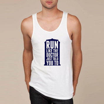 Run Like The Doctor Just Told You To Tank Top