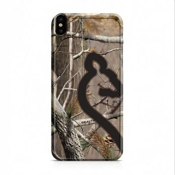 Love Browning Deer Camo Real Tree Couple 2 iPhone X case